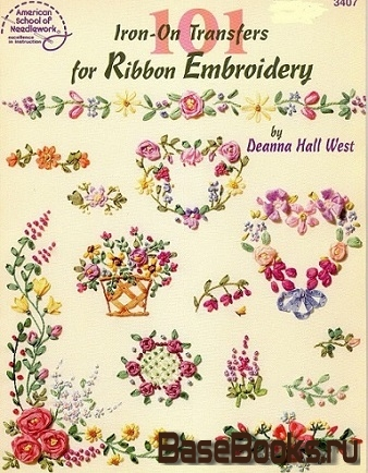 101 Iron-On Transfer for Ribbon Embroidery