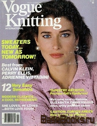 Vogue Knitting - Spring/Summe, 1985