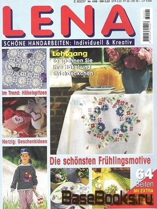 Lena №4 1998 Schone Handarbeiten: Individuell & Kreativ