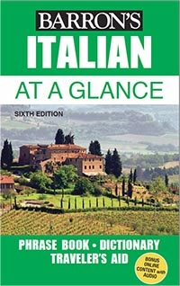 Italian At a Glance: Foreign Language Phrasebook & Dictionary, 6 edition