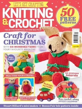 Let's Get Crafting Knitting & Crochet №104 2018