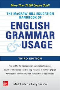 McGraw-Hill Education Handbook of English Grammar & Usage, Third Edition