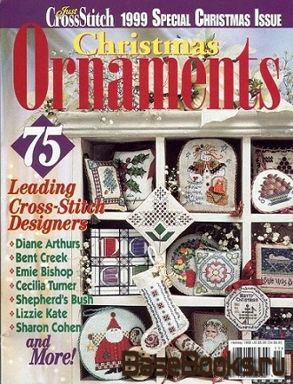 Just Cross Stitch - Christmas Ornaments 1999