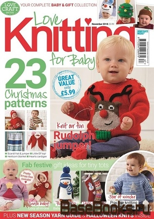 Love Knitting for Baby - November 2018